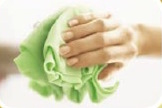 Clean Without Chemicals microfiber cloths kitchen