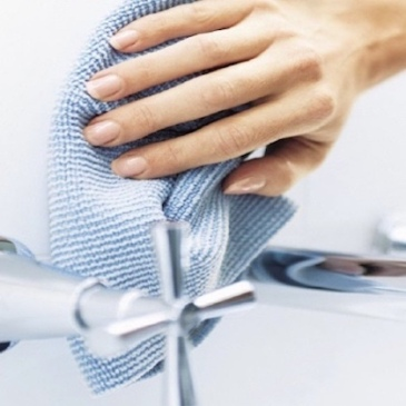 Natural cleaning microfiber cloths - clean without chemicals